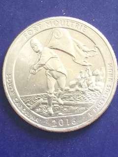 USA quarter Dollars Year 2016, UNC