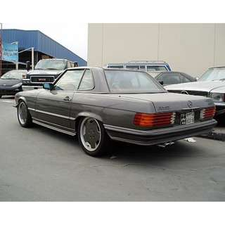 Mercedes Benz SL Class R107 AMG (custom) Bodykit