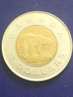 Canada Commemorative $2 year 1996, UNC