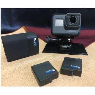 GoPro Hero 5 Black with Dual Battery Charger