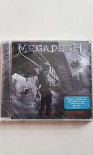 Brand new sealed CD Megadeth - Dystopia