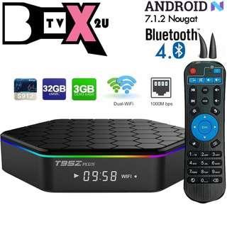T95Z 3+32GB SMART TV ANDROID BOX 7.1.2/MYIPTV