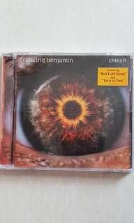 Brand new sealed CD Breaking Benjamin - Ember