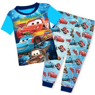 Lightning McQueen short sleeve pyjamas set