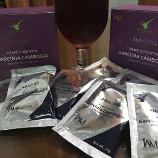 IAM AMAZING GARCINIA CAMBOGIA WITH GRAPE JUICE