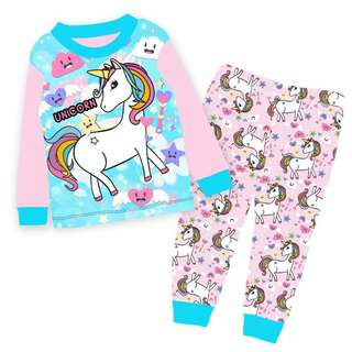 Unicorn pyjamas set