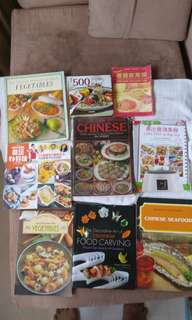 ASSORTED BOOKS-Cooking