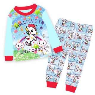 Tokidoki pyjamas set Unicorno pyjamas set