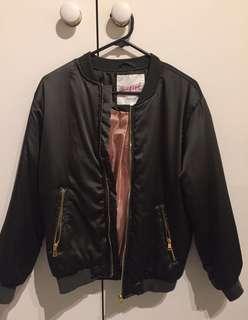 Puffy Bomber Jacket