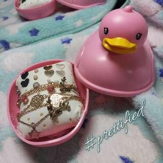 Pink Duck Soap Box / Jewelry Box