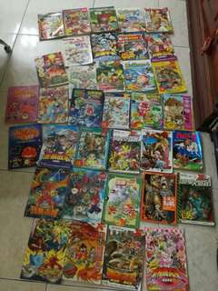 second hand comics book to let go