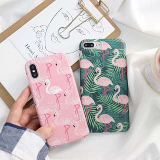 [iPhone 6/6S/6Plus/7/7Plus/X] Flamingo Case