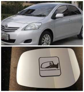 Toyota Vios 2009 side mirror all models and series