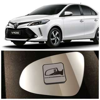 Toyota Vios 2016 side mirror all models and series
