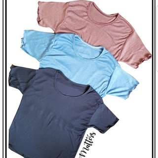 Scallop tops
