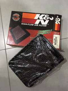 K&N drop in filter for TOYOTA -VIOS 08' -ALTIS 08'