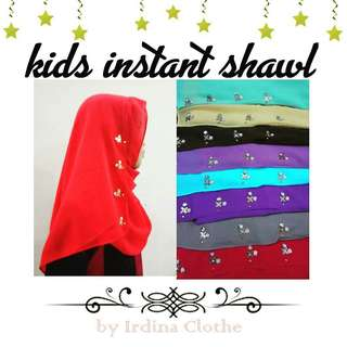 Kids Instant Shawl