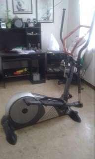 Magnetic Elliptical Strider Exercise Machine