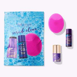 ✨ INSTOCK SALE: Tarte limited-edition scrub clean cleansing set