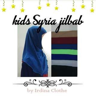 Syria Jilbab for kids
