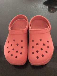 CROCS FOR KIDS RED (size 12-13)