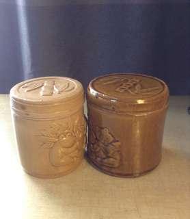 CUTE panda salt jars