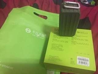army green bluetooth speaker