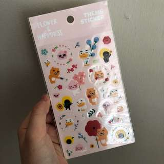 Kakao Friends Sticker Sheet