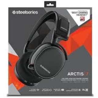 Steelseries Arctis 7 Wireless Headphone (FREE 1 QCK MOUSEPAD)