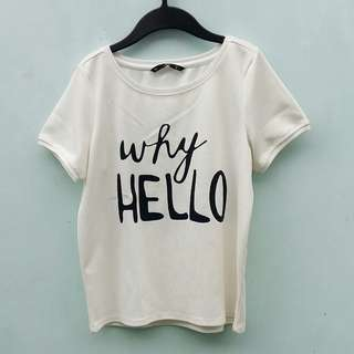 For Me white top for women