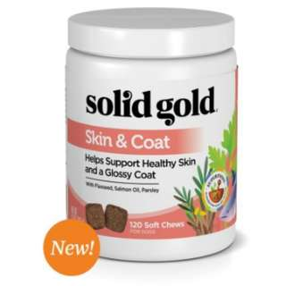 Solid Gold Skin & Coat Health Chew for Dogs