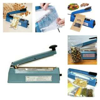 Impulse Sealer PFS-200.  Various plastic films package.  User friendly, Save Space, Save Power.   Size 52*35*37cm. Sealing Width 200mm*2mm.