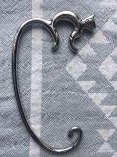 Handbag holder - silver 🐱
