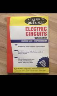 Schaum's Outlines: Electric Circuits 4th Edition