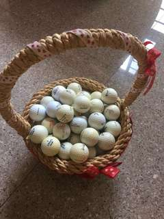 GOLF BALLS with different brands and in different conditions and price starting from $0.50 EACH.