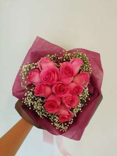 Rose bouquet Heart-Shape