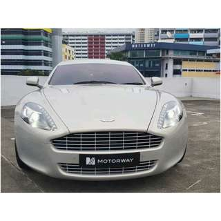 ASTON MARTIN RAPIDE 6.0 AT ABS D/AB 2WD GAS/D 5DR