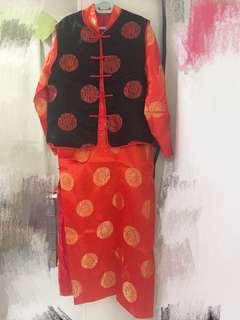 Chinese men costume 中式男裝馬褂