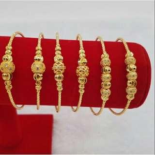Bangle emas korea