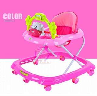 Baby Walker Functional With Music Box & Puzzle Toys