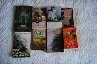Bundle of 13 novels