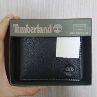 Authentic Timberland Leather Bifold Wallet