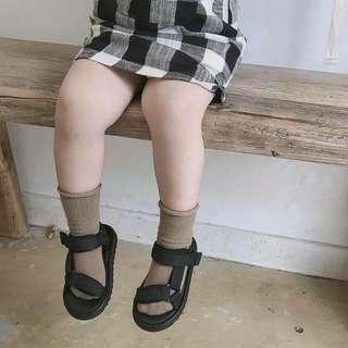 全新 男女寶個性休閒涼鞋-14.5cm