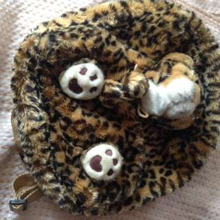 Tas anak tas boneka macan safari