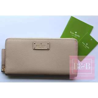 Authentic Kate Spade Neda Wallet (Beige)