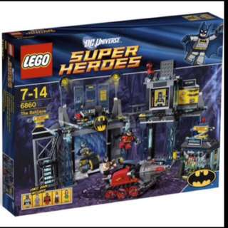 Lego 6860 Super Heroes The Batcave (New)