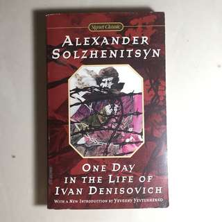 One day in a life of ivan denisovich