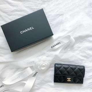 CHANEL Flap Card Holder