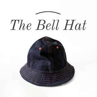 Denim Bell Hat / Bucket Hat for Hipsters