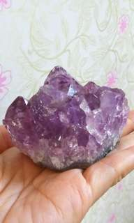 🌟天然紫晶簇(D011)